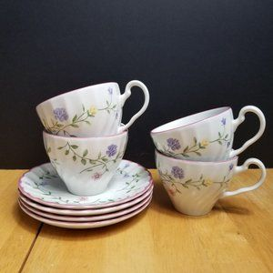 Johnson Brothers Summer Chintz Cup & Saucer Sets